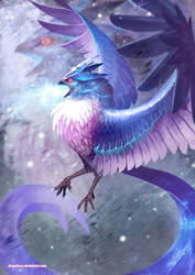 Mythical Articuno by Dragolisco