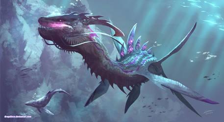 Leviathan Dragon by Dragolisco