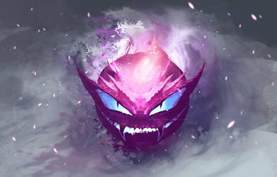 Lavender Team: Gastly by Dragolisco