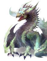 Green Dragon by Dragolisco