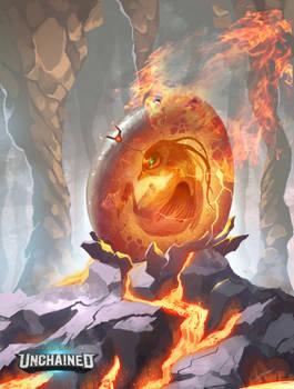 Gods Unchained - Phoenix Egg by Dragolisco