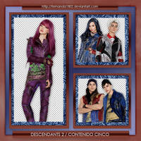 Descendants 2 PNG 001 by Fernanda1802