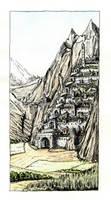 Minas-Tirith by erzsebet-beast