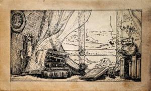 Lotr Prologue illustration by erzsebet-beast