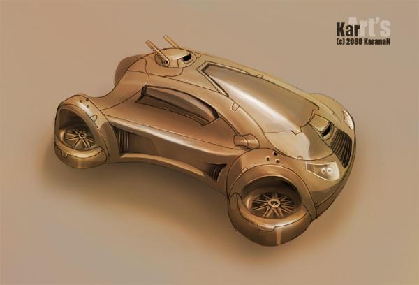 AirCar by KaranaK