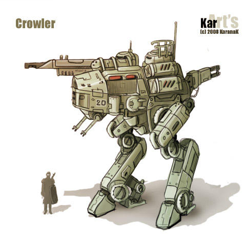Crowler by KaranaK