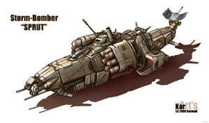 Storm bomber SPRUT Color MOD I by KaranaK