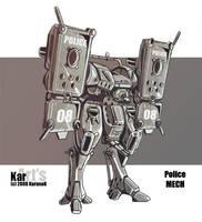 Police MECH by KaranaK