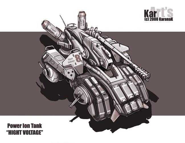 Power Ion Tank HIGHT VOLTAGE by KaranaK