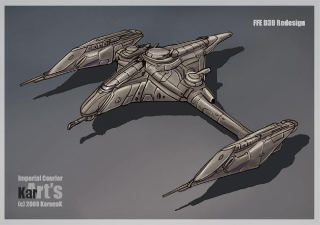 FFE D3D Redesign Imperial Cour by KaranaK