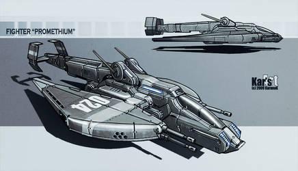 Fighter Promethium by KaranaK