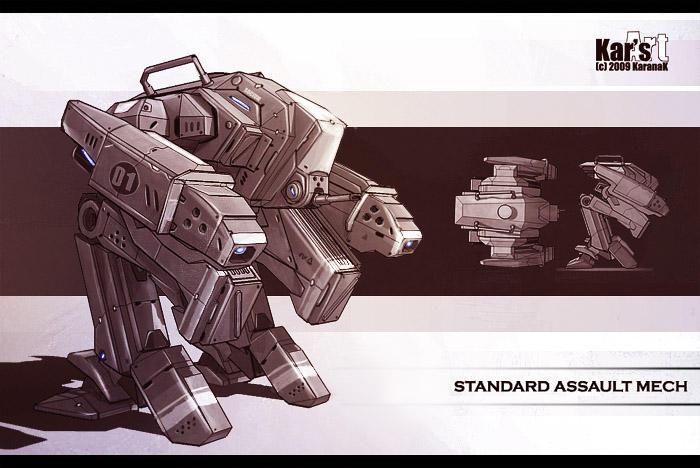Standard Assault Mech by KaranaK
