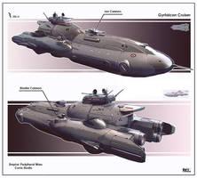 Gyrfalcon Cruiser by KaranaK