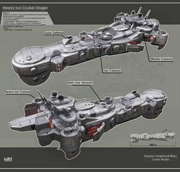 Heavy Ion Cruiser Stager by KaranaK