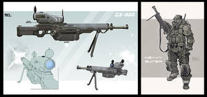 Heavy Guner ZX 800 by KaranaK
