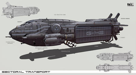 Sectorial Transport by KaranaK