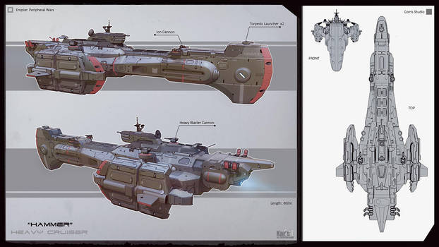 Heavy Cruiser Hammer by KaranaK