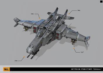 Strike Fighter OMUL by KaranaK