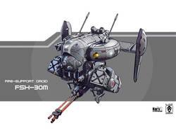 Fire-support Droid FSX-30m by KaranaK