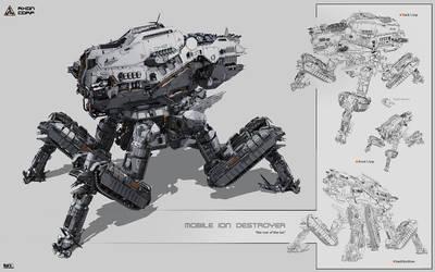 Mobile Ion Destroyer by KaranaK