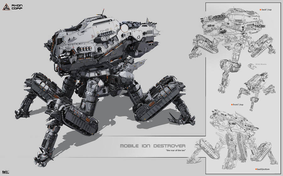 Mobile Ion Destroyer by KaranaK