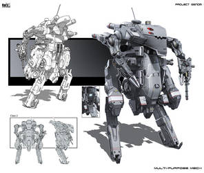 Multi-purpose mech Class 2 by KaranaK