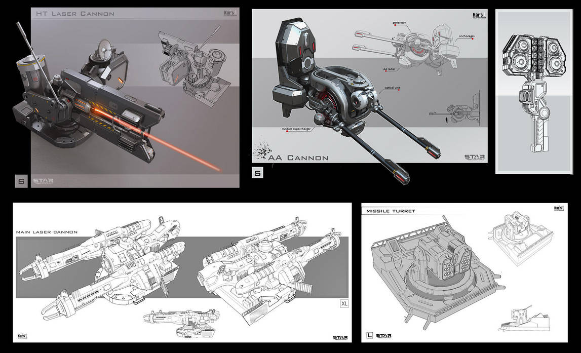 Weapon systems by KaranaK