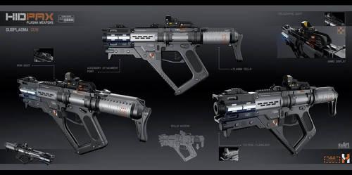 Subplasma gun by KaranaK