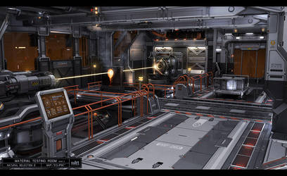 Material Testing Room V2 by KaranaK