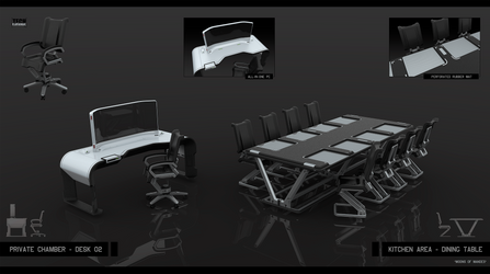 Desk\table by KaranaK