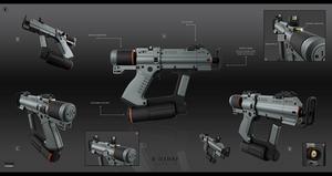 K-tech 42 laser pistol by KaranaK