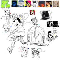 pchat art jam session by digital-z3ro