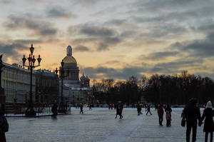 Sunset in Peterburg. by modnikova