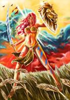 Amazon Warrior A by Chimpanboy