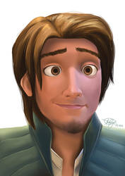 Flynn Rider being hot as usual by keikei11