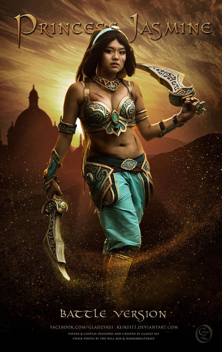Battle Princess Jasmine Cosplay by keikei11