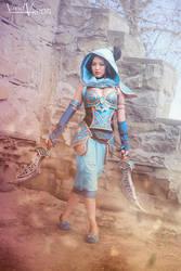 Battle Princess Jasmine 2.0 Cosplay by Gladzy by keikei11