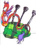 Knucker JazzDragon by FloweringWolfsbane