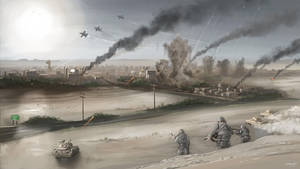US Army Assault by LJFHutch