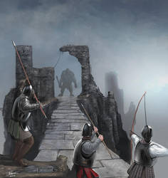 Holding the Bridge by LJFHutch