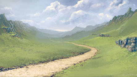 Valley Speed Paint by LJFHutch