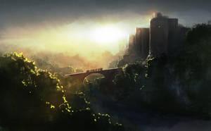 Castle Light by LJFHutch