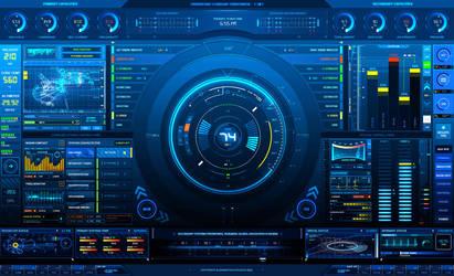 AdvancedUI: Status Screen by z-design