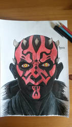 DarthMaul by RavensSkill