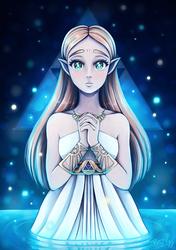 Princess Zelda by Bunnyloz