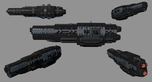 MCR6-Class Frigate by madfox43