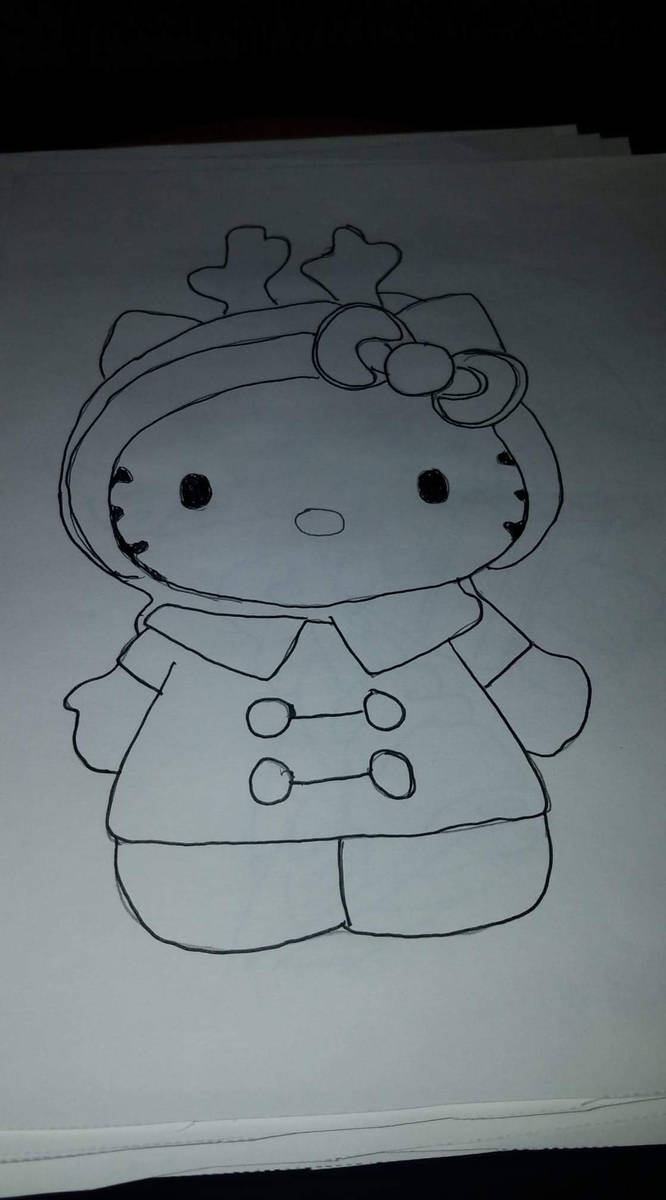 WInter Hello Kitty by Bcfoster20