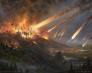 MeteorShower by FrejAgelii