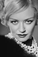 Classical female portrait 24.2 by Albert-Smirnov