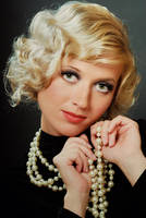 Classical female portrait 28 by Albert-Smirnov